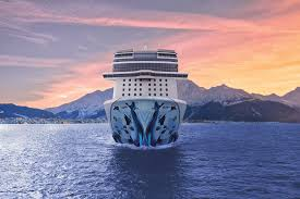 norwegian cruise line to advertise on tv for first time ncl bliss aerial alaska 2 hi web