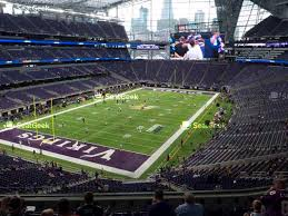 U2 Us Bank Stadium Seating Chart Your Ticket To Sports Concerts More Seatgeek