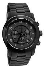 michael kors oversized watch michael kors black mens gents chronograph runway oversized watch mk8157 rrp £259