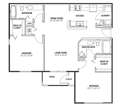 Modern 2 Bedroom Apartment Floor Plans The Villages Fl Apartments Two Bedroom Two Bath
