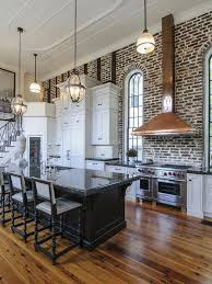 57 Spectacular interiors with exposed brick walls
