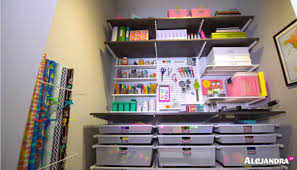 craft office ideas. Organized Office Closet. Craft Supply Organization Ideas Closet A N