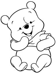 Small Picture Pooh Bear Coloring Pages diaetme