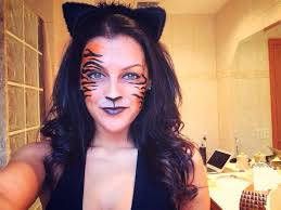 tiger makeup so cool