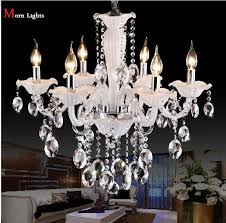 white chandelier crystal lighting modern crystal chandelier living regarding amazing property white crystal chandelier ideas