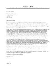 Cover Letter For Nice Architecture Cover Letter Sample Resume Template