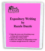 Different Types Of Expository Essays Razzle Dazzle Expository Writing Creative Writing Daily Dazzles