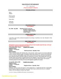 Unique Resume Template Aus Best Templates
