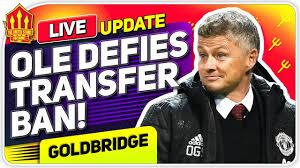 Solskjaer Defies Transfer Ban! Man Utd Transfer News - YouTube