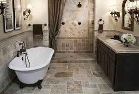 bathroom remodel tile floor. Cheap Bathroom Remodel Ideas White Toilet On Gray Tile Floor Wall Featuring Bathtub Natural Stone I
