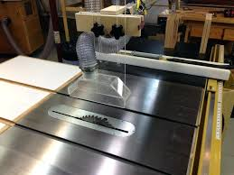 table saw dust collection table saw overhead dust collection saw table dust extraction guard table saw dust collection