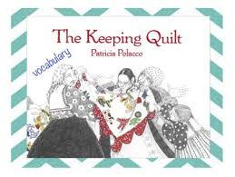 The Keeping Quilt BILINGUAL VOCABULARY CARDS by Mrs V's Creations & The Keeping Quilt BILINGUAL VOCABULARY CARDS Adamdwight.com