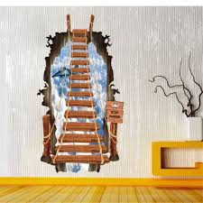 Small Picture 3D Seascape Design Removable PVC Wall Stickers Stickers online