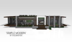 simple modern house.  Simple On Simple Modern House