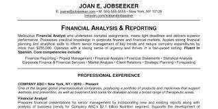 Good Resume Examples Free Job Cv Example