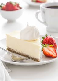 low carb cheesecake has all the delicious flavor and creamy texture of traditional cheesecake without the