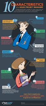 top 10 characteristics of the ideal project manager infographic top 10 characteristics of the ideal project manager infographic