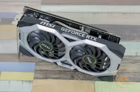 Обзор <b>видеокарты MSI GeForce RTX</b> 2060 VENTUS 6G OC: ветер ...