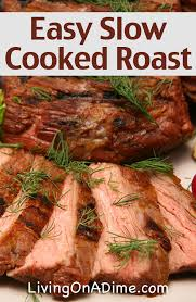 quick and easy slow cooked roast recipe