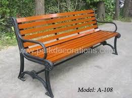 Wrought Iron Garden Benches  A108  Yuepin China Manufacturer Outdoor Wrought Iron Bench
