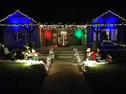 House Flood Lights Christmas Diy Christmas Lights And Outside Decorations