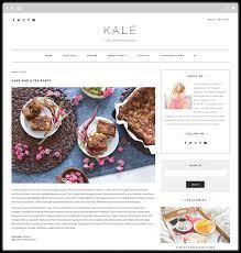 Kale The Perfect Free Food Blog Theme