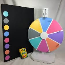 diy prize wheel new 12 lularoe 8 color prize wheel 17 5 12 chalkboard prize