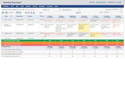 Sample Of Schedules Flexible Work Schedule Reporting Scheduleanywhere