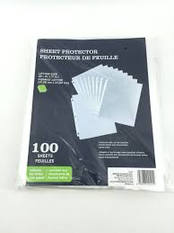 Sheet Protector Walmart Canada Transparent Colored Paper Walmartl L