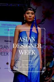 Fashion Designer Collection Names Asian Designer Week Ss18 Collection By Sanyam Jain