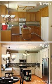 Kitchen Cabinet Upgrades Gorgeous Kitchen Reveal 48s To Awesome In 48 DIY Pinterest Home