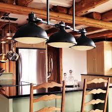 pier 3 heads pendant light nordic black iron vintage lamps diner box ceiling lamp cover