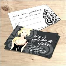 Stylist Business Cards Best Hair Salon Card Templates Images On