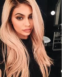 Kylie Jenner Has Blonde Hair - Kylie Jenner Hair Color Trends