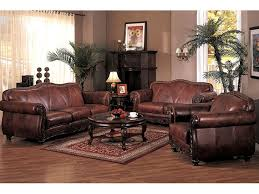 architecture living room sets leather amazing cindy crawford home gianna brown 2 pc with pertaining
