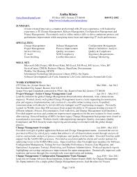 Tech Resume Format Best Ideas Of Configuration Management Engineer