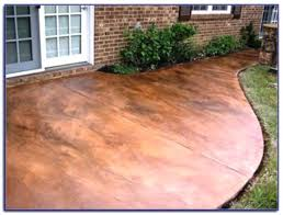 painted concrete patio floor ideas painting concrete floors outside staining concrete patio to look like stone