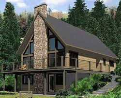 ePlans A-Frame House Plan  Roomy Vacation Cottage  1691 Square Feet and 4  Bedrooms from ePlans  House Plan Code HWEPL77516 | House Plans | Pinterest  ...