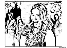 Coloriage Chica Vampiro Daisy Et Ses Amis Dessin Coloriage Magique Chica Vampiro A Imprimer L