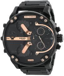 amazon com diesel men s dz7312 mr daddy 2 0 black ip watch amazon com diesel men s dz7312 mr daddy 2 0 black ip watch diesel