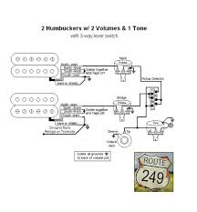 2 volume 1 tone wiring diagram 2 image wiring diagram wiring diagram 2 humbuckers 1 vol tone wiring diagrams and on 2 volume 1 tone wiring