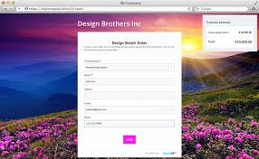 Free Online Order Form Template Create Online Forms Free