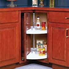 d 2 shelf pie cut door mount lazy susan cabinet organizer