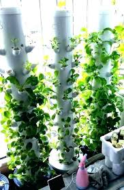 aeroponic tower tower garden hydroponic tower garden growing vegetables vertical hydro system using pipes t hydroponic tower