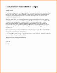 raise salary letter editable salary increase request letter sample for employee vatansun