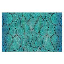 decorative floor coverings pom graphic design sea waves pattern