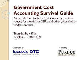 Dcaa Organization Chart Government Cost Accounting Survival Guide