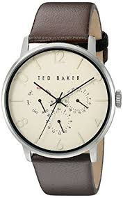ted baker men s 10023493 classic analog display ese quartz ted baker men s 10023493 classic analog display ese quartz brown watch
