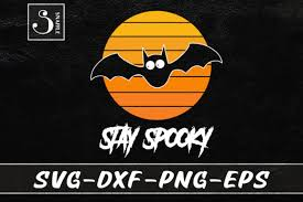 Download the scary halloween font for free and if you like it donations are always appreciated. 0 Stay Spooky Bat Halloween Lover Svg Designs Graphics
