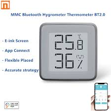 Buy <b>xiaomi mijia bluetooth</b> temperature thermometer online, with ...